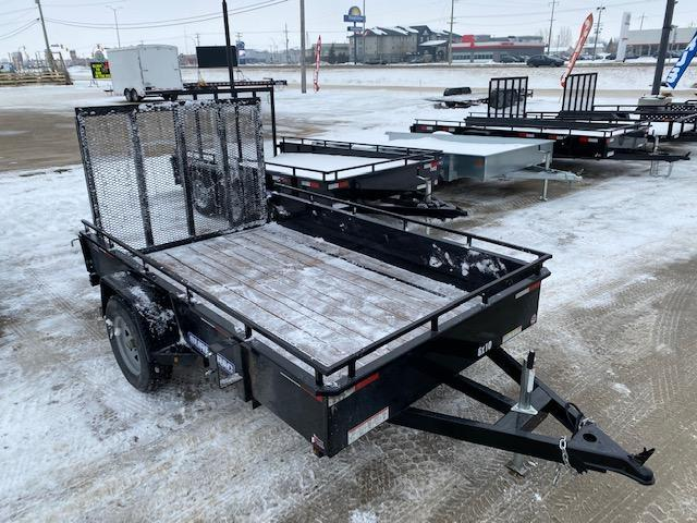 2020 Sure-Trac 6 x 10 Steel High Side Utility Trailer 3K