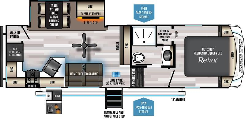2022 Arctic Wolf Limited 261RK Couples Model Fifth Wheel Campers RV