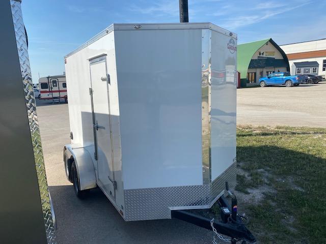 "2022 Cargo Mate 6 x 12  Enclosed Cargo Trailer +6"" 7K Barn"
