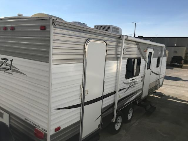 2013 Crossroads Zinger ZT251BH Bunk Model Travel Trailer RV