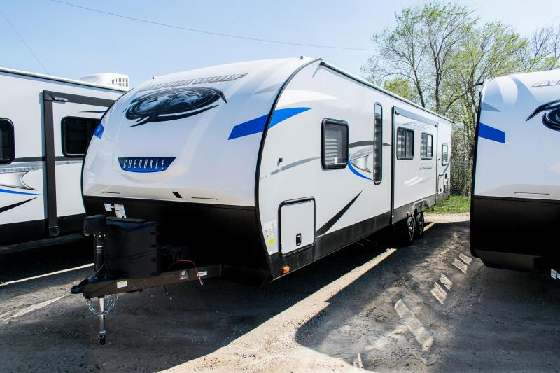 2020 Alpha Wolf Limited 29DQ Two Bedroom Travel Trailer