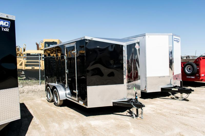 2019 Cargo Mate 7 x 14 Enclosed Cargo Trailer 7K Ramp