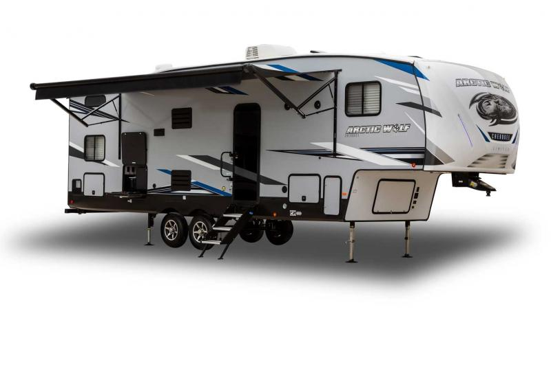 2022 Forest River Arctic Wolf 3660SUITE Fifth Wheel Bunk Room Camper RV