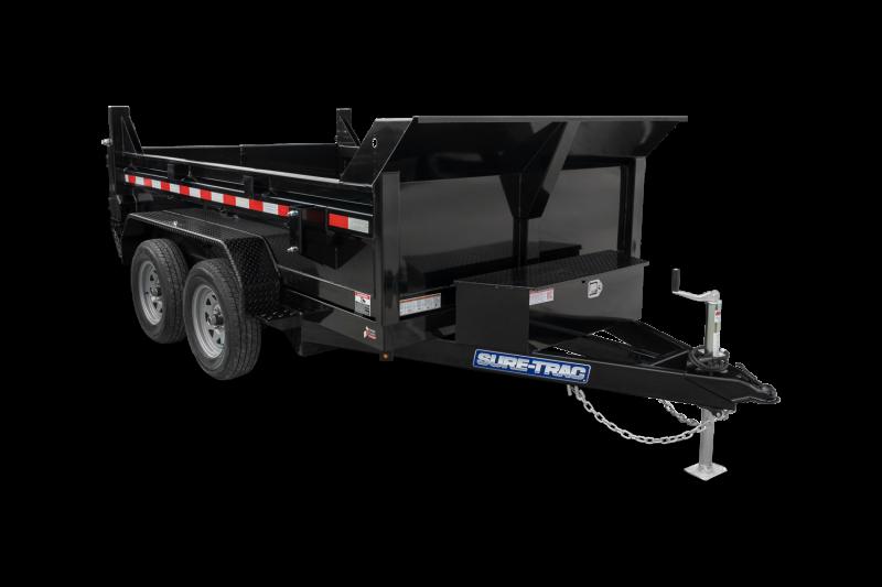 2021 Sure-Trac 6 x 10 SD Low Profile Dump Trailer 7K