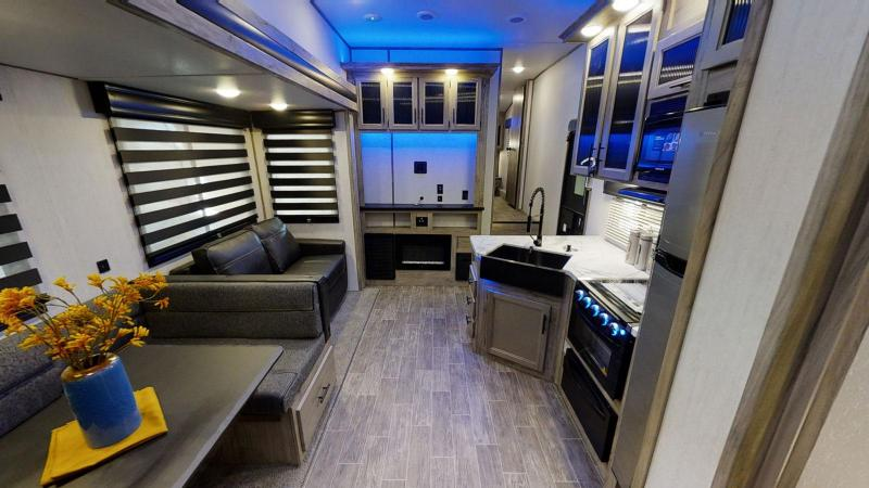 2021 Arctic Wolf Limited 321BH Fifth Wheel Bunk Room Camper