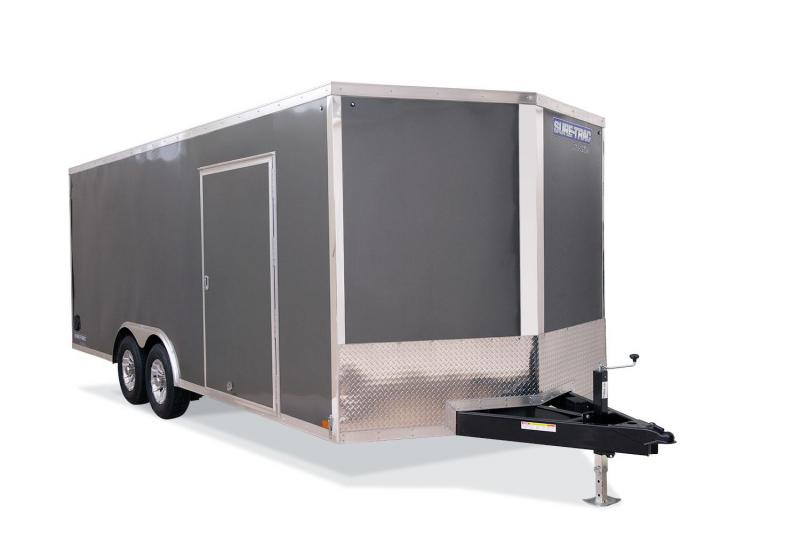 2021 Sure-Trac 8.5 x 16 Pro Series Enclosed Wedge Cargo 7K Ramp