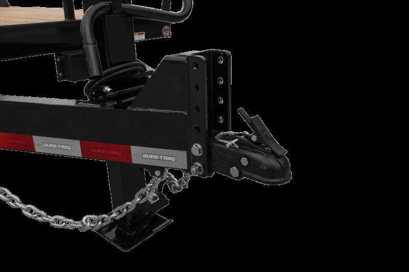 2021 Sure-Trac 7 x 17+3 Universal Ramp Equipment Trailer 14K