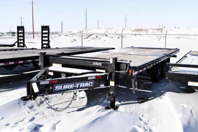 2021 Sure-Trac 8.5 x 22 Heavy Duty Pintle Power Tilt Deckover 14K
