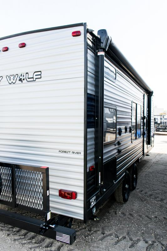 2021 Grey Wolf Limited 22MKSE Travel Trailer Bunk Model RV
