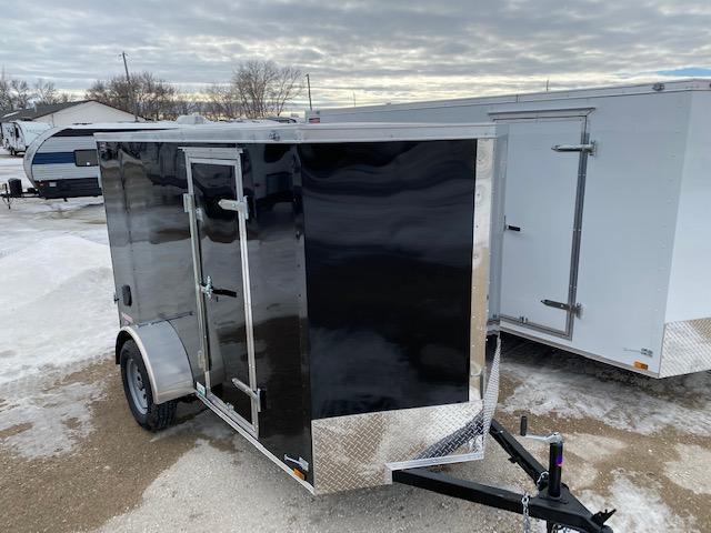 "2021 Cargo Mate 5 x 10 Enclosed Cargo Trailer +6"" Barn"