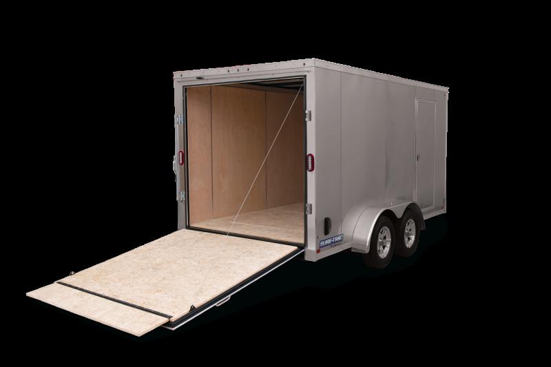 2021 Sure-Trac 7 x 14 Pro Series Enclosed Wedge Cargo 10K Ramp