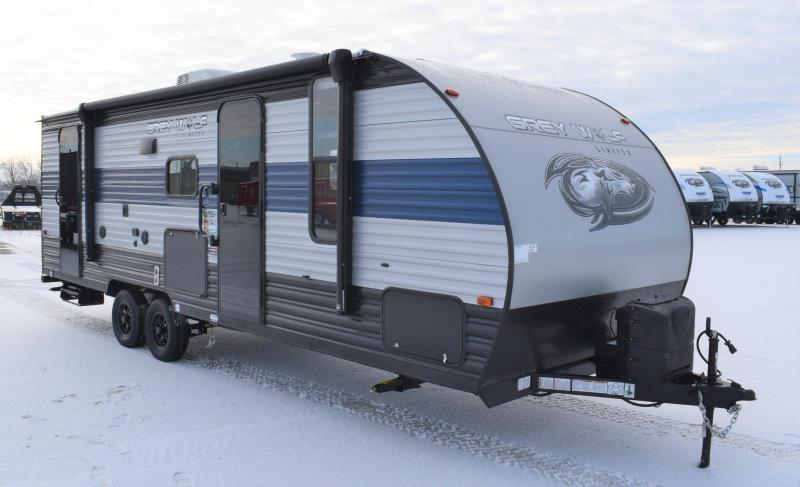 2021 Grey Wolf Cherokee 23DBH Bunk Model Travel Trailer