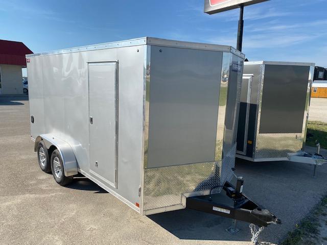 2021 Sure-Trac 7 x 16 Pro Series Enclosed Wedge Cargo 10K Ramp