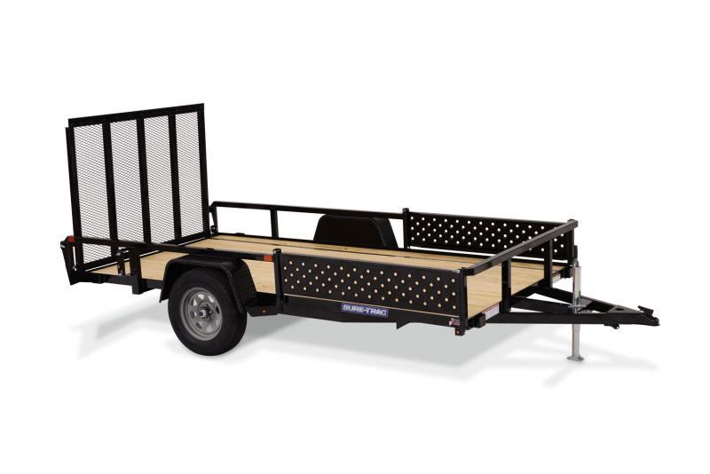 2021 Sure-Trac 7 x 14 Tube Top ATV Utility Trailer 5K SA