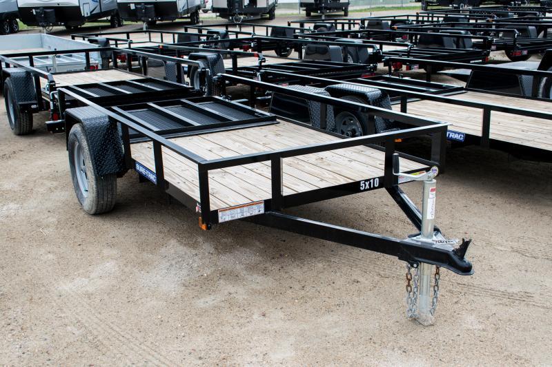 2020 Sure-Trac 5 x 10 Angle Iron Utility  3k Idler
