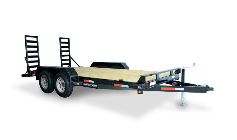 2021 Sure-Trac 7 X 20 10K Implement Equipment Trailer