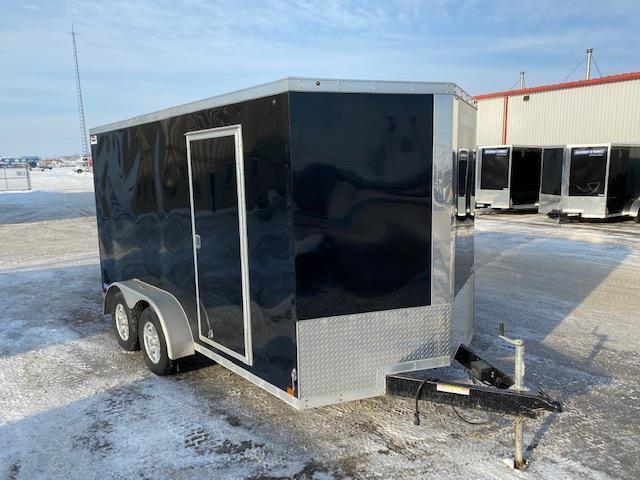 2016 Sure-Trac 7 x 14 Enclosed Cargo Trailer 7K Ramp