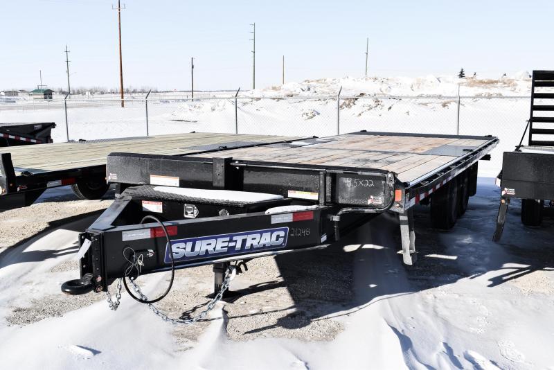 2021 Sure-Trac 8.5 x 22 Heavy Duty Power Tilt Deckover 14K