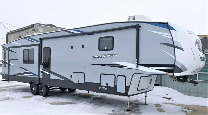 2021 Arctic Wolf Limited 3660 Suite Series Bunk Model Fifth Wheel Camper RV