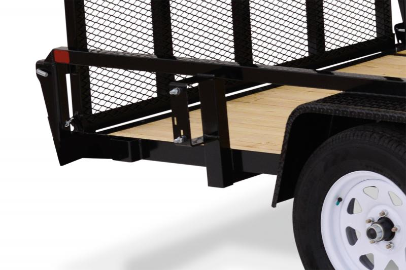 2021 Sure-Trac 7 X 16 TA Tube Top ATV Utility Trailer