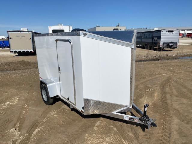 2021 Cargo Mate 6 x 10 Aluminum Enclosed Cargo Trailer 3K Barn