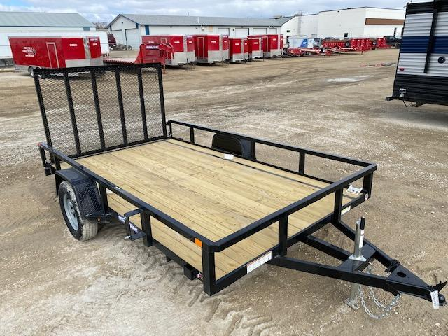 2021 Sure-Trac 7 x 12 Tube Top Utility Trailer 3K Idler