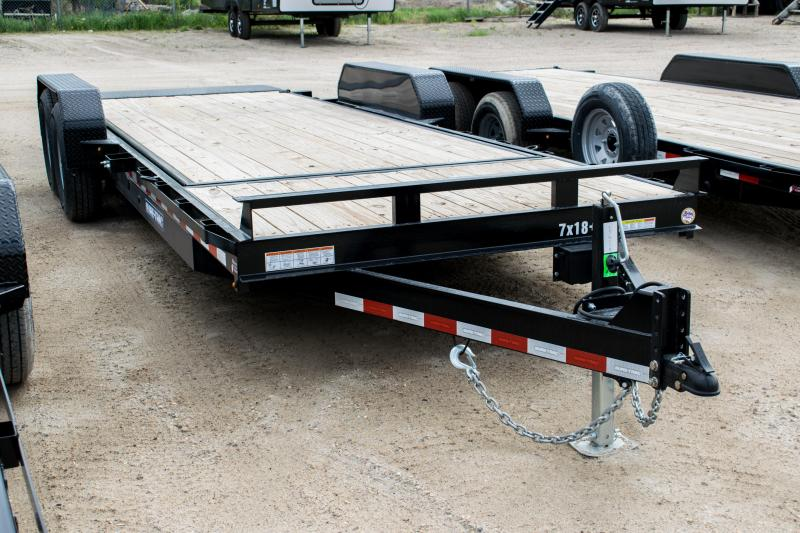 2020 Sure-Trac 7 X 18 + 4 Tilt Bed Equipment  14K