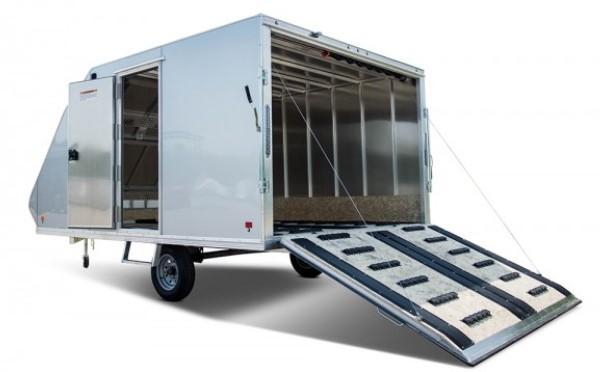 2022 SnoPro Trailers HYBRID 101X12 Enclosed Snowmobile Trailer