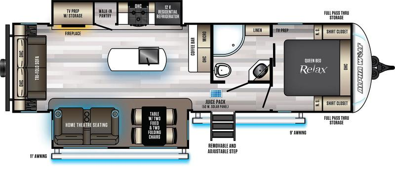 2022  Alpha Wolf Limited 26RL-L Ultimate Couples Model Travel Trailer RV