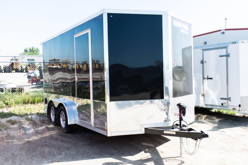 2021 Sure-Trac 7.5x14 Enclosed Moto Pro Wedge Cargo TA 7K Ramp
