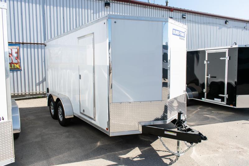 2021 Sure-Trac 7 x 16 Pro Series Wedge Cargo Enclosed Trailer 10K Ramp
