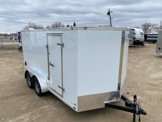 2021 Cargo Mate 7 x 14 Enclosed Cargo Trailer Barn 7K