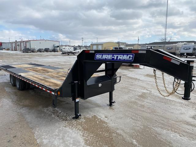 2021 Sure-Trac 8.5 x 20+10 Heavy Duty LP GN Hyd. Beavertail 24K