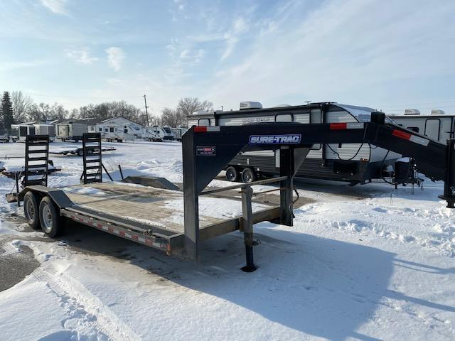 2019 Sure-Trac 8.5 x 20 Gooseneck Equipment Trailer 14K