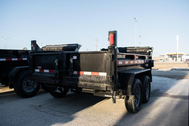 2020 Sure-Trac 6 x 10 LProfile 7K Single Ram Dump Trailer