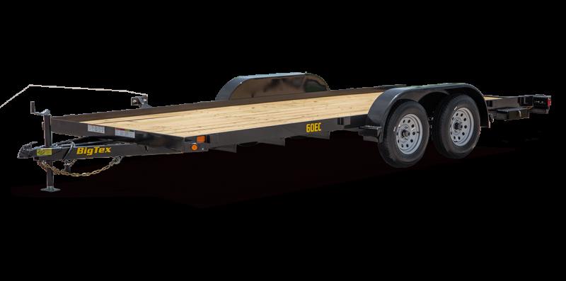 2022 Big Tex Trailers 60EC-18BK Elec BR-2 Equipment Trailer