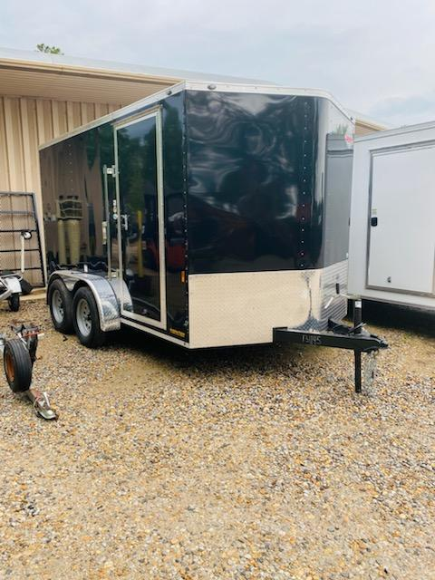 2021 Cargo Mate 07x12 SA Enclosed Cargo Trailer