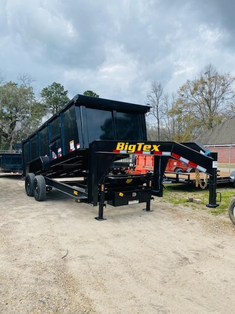 2021 Big Tex Trailers 06.10x16 14GX Dump Trailer