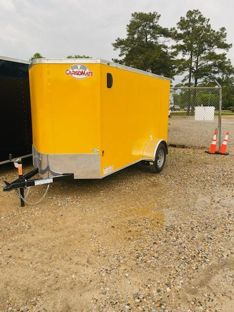 2021 Cargo Mate 05x10 SA Enclosed Cargo Trailer