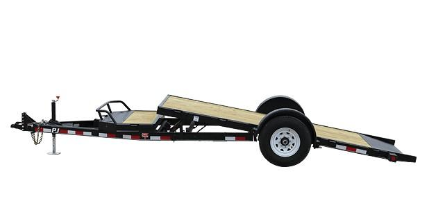 2020 PJ Trailers 6.10x13 Single Axle HD Tilt (T1) Equipment Trailer