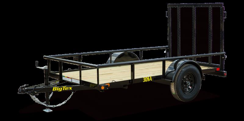 2021 Big Tex Trailers 05x14 30 SA Utility Trailer