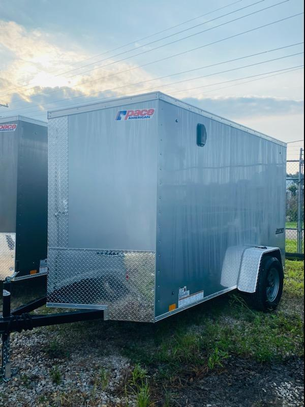 2021 Pace American 05x10 Journey Enclosed Cargo Trailer