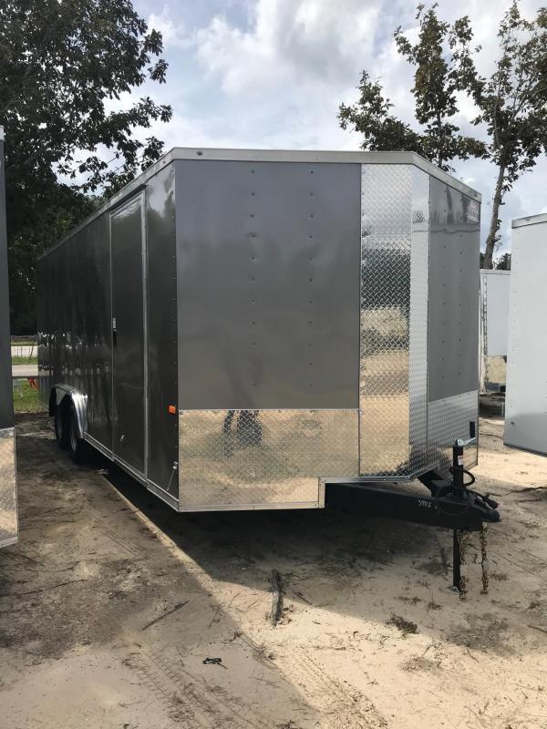 2022 Rock Solid Cargo 8.5 x 20 TA Enclosed Cargo Trailer