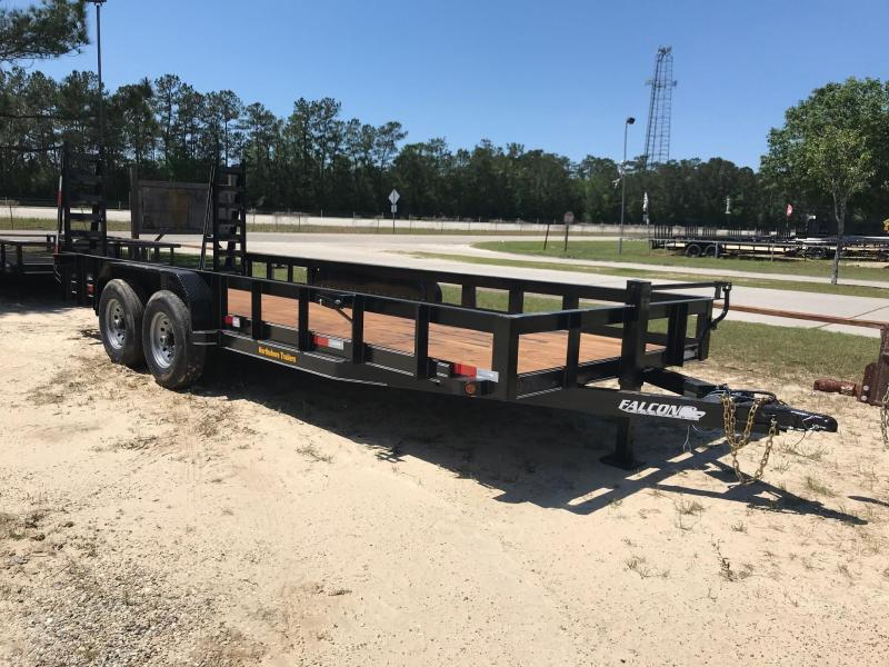 2021 Falcon 6.10x20 Spr Duty 1 Utility Trailer