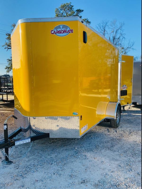 2021 Cargo Mate 06x10 SA Enclosed Cargo Trailer