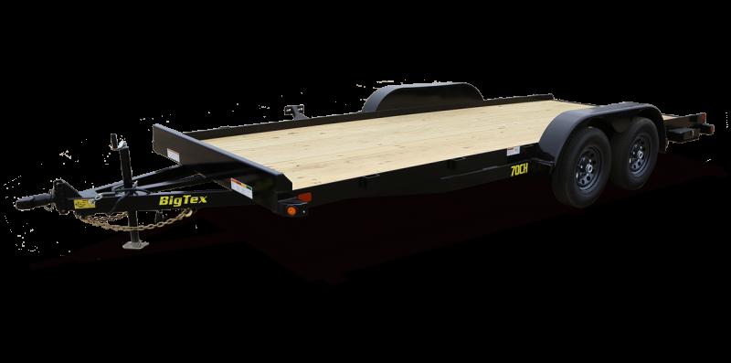 2022 Big Tex Trailers 6.10x20 70CH-20 Car / Racing Trailer