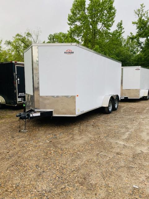 2021 Rock Solid Cargo 07x16 TA Enclosed Cargo Trailer