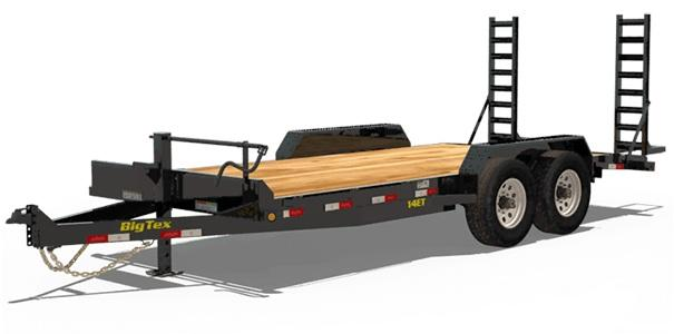 2021 Big Tex Trailers 6.10x20 w/Mega Ramps 14ET Equipment Trailer