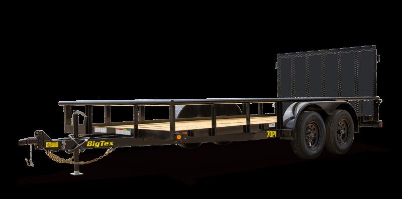 2022 Big Tex Trailers 06.10x20 70PI Utility Trailer