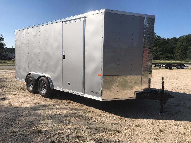 2021 Rock Solid Cargo 8x16 TA VN Enclosed Cargo Trailer